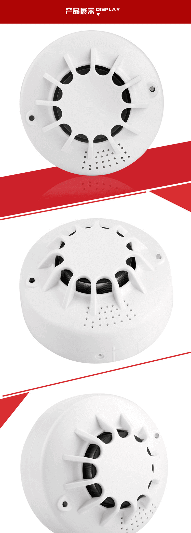 fire & safety cheap smoke alarm kitchen smoke detector