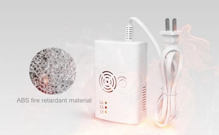best lpg detector gas leak detector for home use with ABS housing
