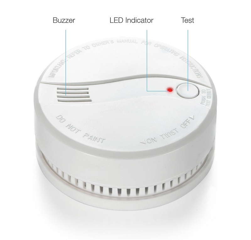 stand alone use smoke detector cost