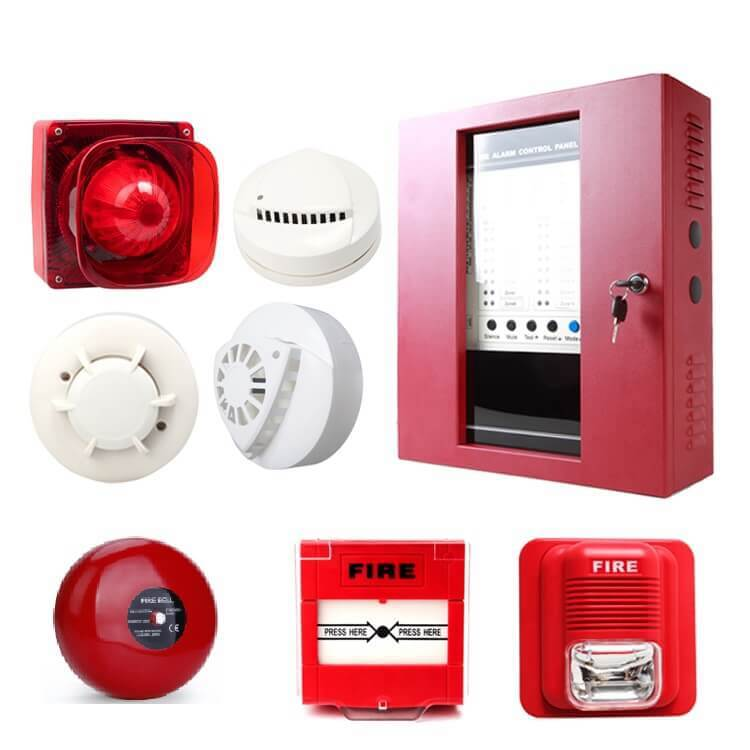 commercial fire alarm system is also called fire control panel