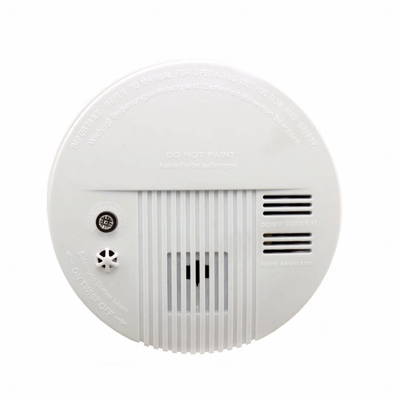 fire detector fire alarm smoke detector optical smoke alarm with dual voltage