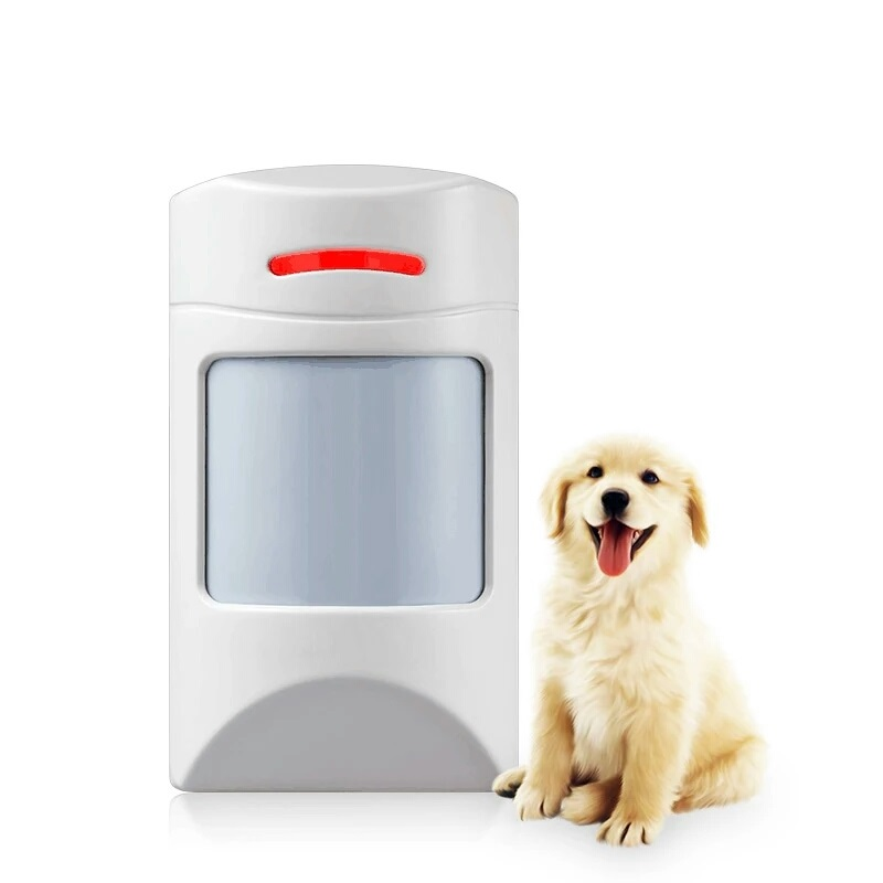 home wireless pet-immunity pir sensor passive infrared sensor alarm